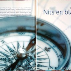 Libros de segunda mano: LIBRO CATALÁN NITS EN BLANC DEDICADO/FIRMADO POR AUTOR (ENRIC MAS, 2008). Lote 192706373