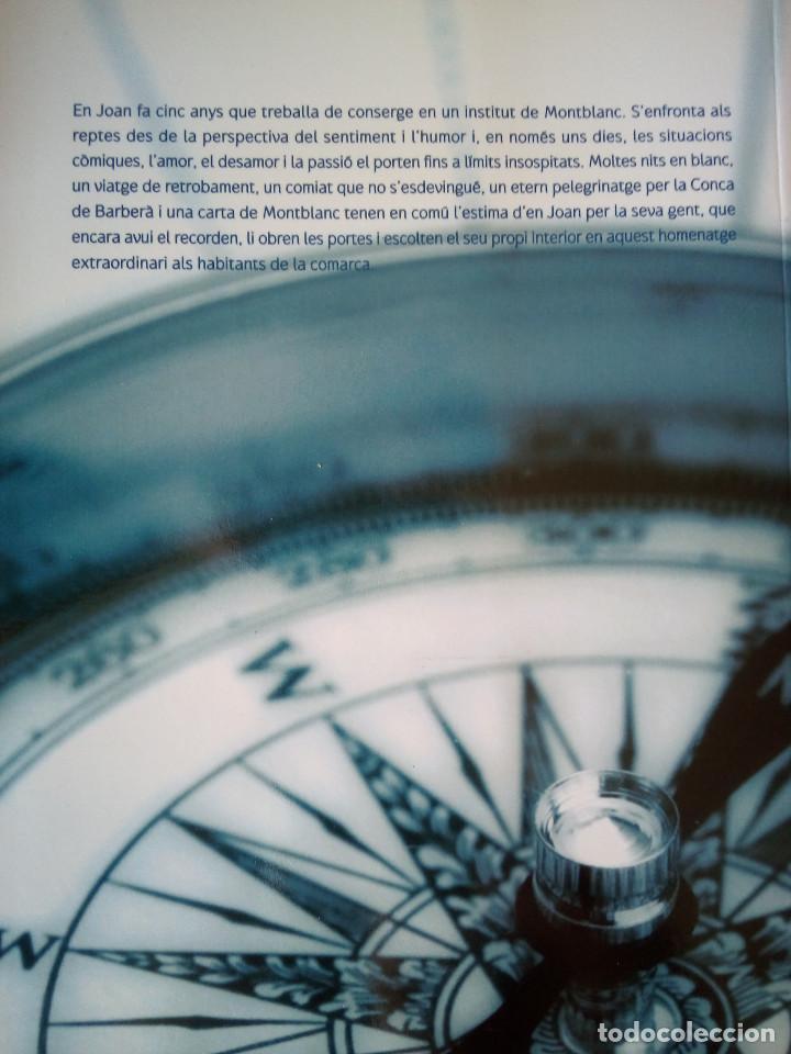Libros de segunda mano: Libro catalán NITS EN BLANC DEDICADO/FIRMADO POR AUTOR (Enric Mas, 2008) - Foto 3 - 192706373