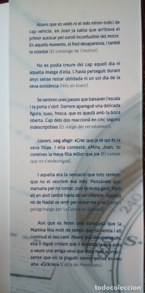 Libros de segunda mano: Libro catalán NITS EN BLANC DEDICADO/FIRMADO POR AUTOR (Enric Mas, 2008) - Foto 4 - 192706373