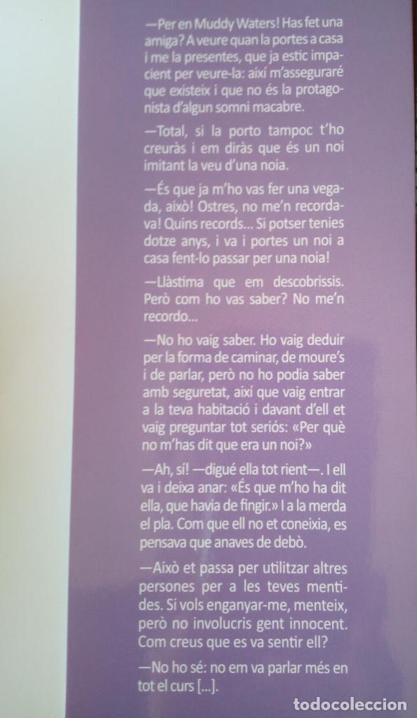 Libros de segunda mano: Libro catalán SEGUEIX EL TEU COR (BULLYING-LGTBI) DEDICADO/FIRMADO POR AUTOR (Enric Mas, 2011) - Foto 5 - 192706410