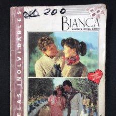 Libros de segunda mano: BIANCA - 2 APASIONANTES NOVELAS PARA VIVIR LA AVENTURA DE AMAR - Nº 67. Lote 194000966