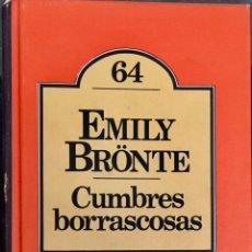 Libros de segunda mano: CUMBRES BORRASCOSAS. EMILY BRONTE. CLUB BRUGUERA. Lote 194197211