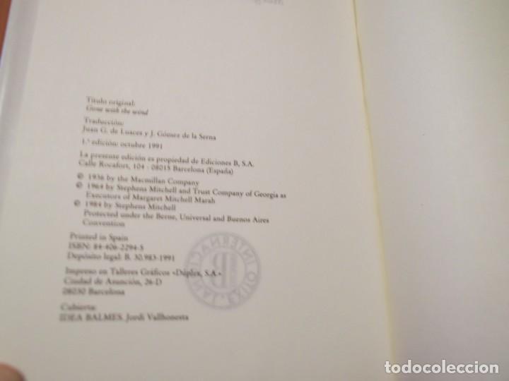 Libros de segunda mano: Libro Lo que el viento se llevo, Margaret Mitchell - Foto 3 - 194235340