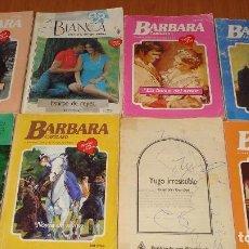 Libros de segunda mano: LOTE DE 8 NOVELAS ROMANTICAS-E.D. HARLEQUIN-AÑO 1993 APROXIMADO- TAPA BLANDA-MEDIDAS 19X 14 CM-. Lote 194309803