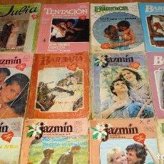 Libros de segunda mano: LOTE DE 12 NOVELAS ROMANTICAS-E.D. HARLEQUIN-AÑO 1993 APROXIMADO-TAPA BLANDA-MEDIDAS 19X 14 CM. Lote 194309948