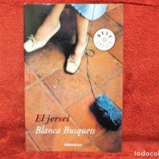 Libros de segunda mano: EL JERSEI BLANCA BUSQUETS DE BOLSILLO EDICIÓN CATALÁN. Lote 194620485
