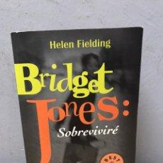 Libros de segunda mano: BRIDGET JONES, SOBREVIVIRÉ POR HELEN FIELDING. Lote 194669986