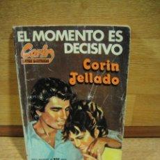 Libros de segunda mano: SERIE CORIN ILUSTRADA Nº 88 - EL MOMENTO ES DECISIVO - CORIN TELLADO. Lote 194755915
