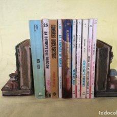 Libros de segunda mano: LOTE DE 10 LIBROS DE LOS 1970´S, NOVELAS, A CLASIFICAR. Lote 194768647
