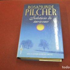 Libros de segunda mano: SOLSTICIO DE INVIERNO - ROSAMUNDE PILCHER - PLAZA JANES - NRB. Lote 194872641