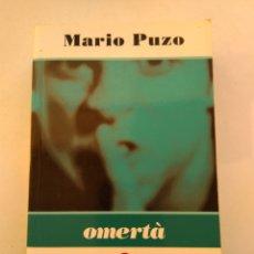 Libros de segunda mano: OMERTÀ/MARIO PUZO. Lote 194977623