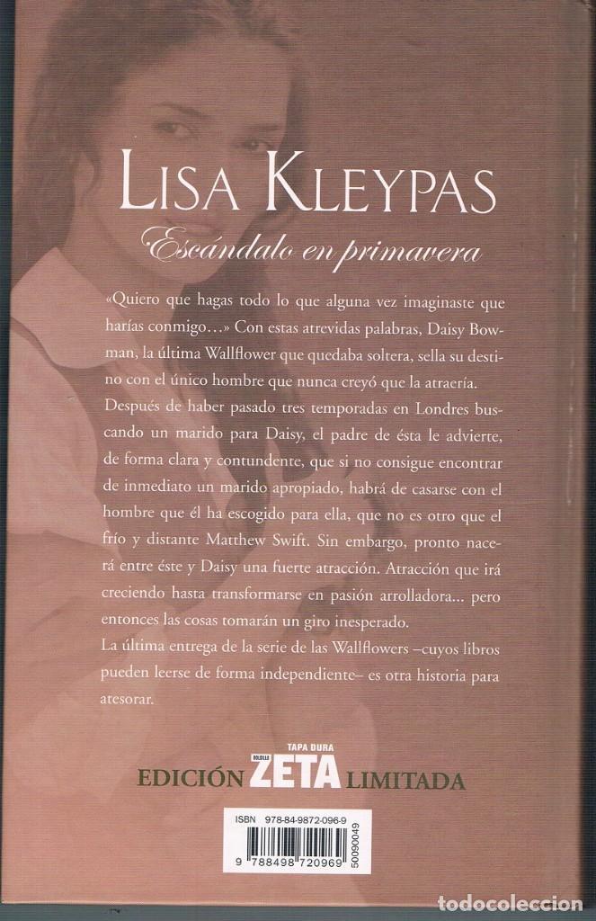 Libros de segunda mano: ESCÁNDALO EN PRIMAVERA LIBRO EN MUY BUEN ESTADO FOTOGRAFÍAS - Foto 3 - 195043070