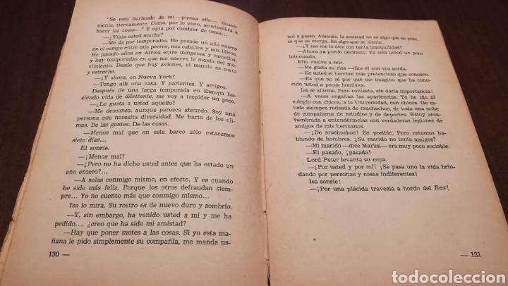 Libros de segunda mano: Quién sabe.... Novela de Carmen de Icaza. 1953. - Foto 5 - 195333220