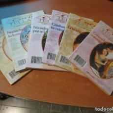 Libros de segunda mano: CORIN TELLADO LOTE 6 NOVELAS EDIMUNDO 1994 . Lote 195347152