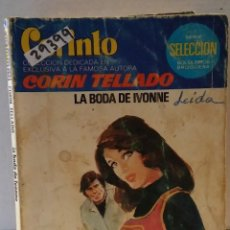 Livres d'occasion: 29399 - NOVELA ROMANTICA - CORIN TELLADO - COL CORINTO - LA BODA IVONNE - Nº 699. Lote 195447083