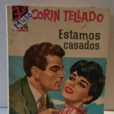 Libros de segunda mano: 29400 - NOVELA ROMANTICA - CORIN TELLADO - COL CORAL - ESTAMOS CASADOS - Nº 36. Lote 195447112