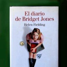 Libros de segunda mano: EL DIARIO DE BRIDGET JONES DE HELEN FIELDING - 1ª EDICIÓN 2001 - TAPA DURA, EDIT. LUMEN - COMO NUEVO. Lote 195523630