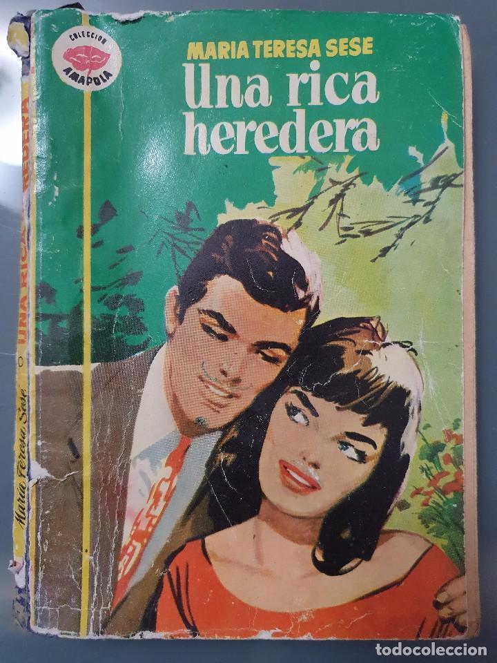 UNA RICA HEREDERA (Libros de Segunda Mano (posteriores a 1936) - Literatura - Narrativa - Novela Romántica)