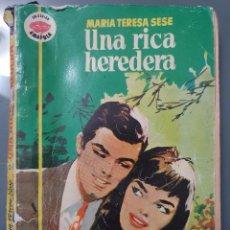 Libros de segunda mano: UNA RICA HEREDERA. Lote 198195207