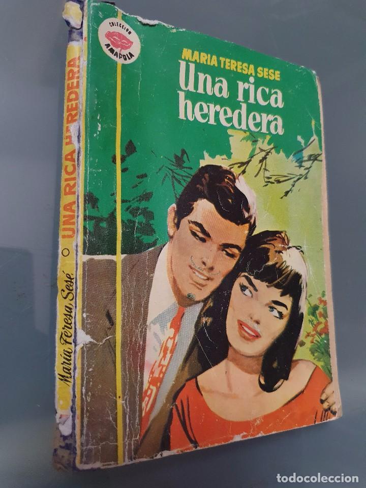 Libros de segunda mano: UNA RICA HEREDERA - Foto 2 - 198195207
