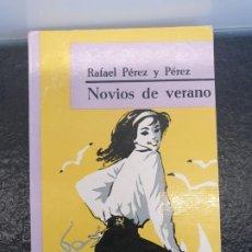 Libros de segunda mano: NOVIOS DE VERANO, DE RAFAEL PÉREZ Y PÉREZ. 1ª EDICIÓN FEBRERO DE 1964. EDITORIAL JUVENTUD. Lote 198344997