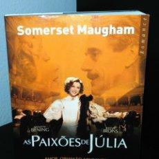 Libros de segunda mano: AS PAIXÕES DE JÚLIA DE WILLIAM SOMERSET MAUGHAM. Lote 199112272