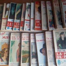 Libros de segunda mano: LOTE 25 EJEMPLARES LA NOVELA ROSA. Lote 199494615