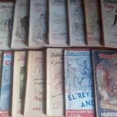 Libros de segunda mano: LOTE 19 EJEMPLARES BIBLIOTECA ROCÍO. Lote 199497407