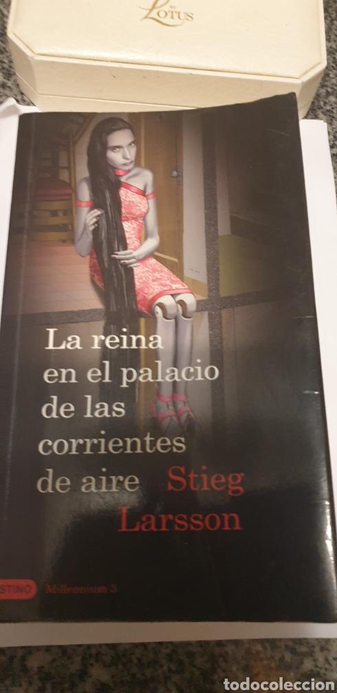 LA REINA EN EL PALACIO DE LAS CORRIENTES DE AIRE. STIEG LARSSON (Libros de Segunda Mano (posteriores a 1936) - Literatura - Narrativa - Novela Romántica)