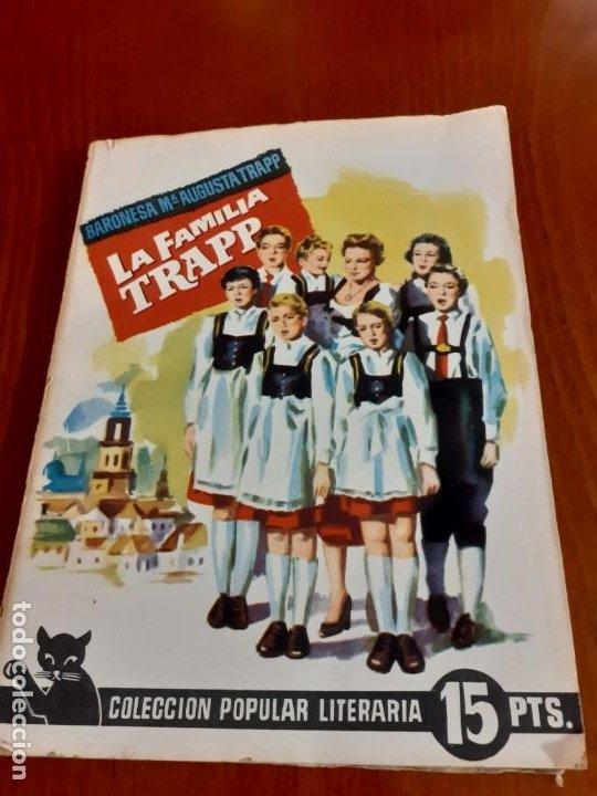 NOVELA LA FAMILIA TRAPP DE 1961 (Libros de Segunda Mano (posteriores a 1936) - Literatura - Narrativa - Novela Romántica)