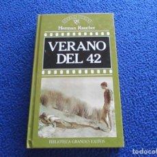 Libros de segunda mano: VERANO DEL 42 HERMAN RAUCHER EDITORIAL ORBIS 1988. Lote 201350836