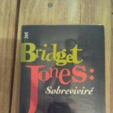 Libros de segunda mano: LIBRO EL DIARIO DE BRIDGE JONES SOBREVIVIRÉ. Lote 202419085