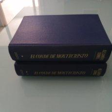 Livres d'occasion: EL CONDE DE MONTECRISTO. ALEJANDRO DUMAS. PRIMERA EDICIÓN. 1968. ED. VERTICE.. Lote 202543035