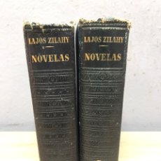Libros de segunda mano: NOVELAS DE LAJOS ZILAHY 1A EDICIÓN EDITORIAL PLAZA JANES 1950. Lote 204676635
