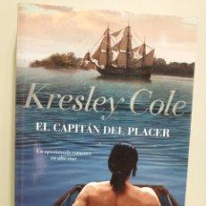 Libros de segunda mano: EL CAPITÁN DEL PLACER. KRESLEY COLE. ED. ESENCIA. CON MARCAPAGINAS. Lote 205575711