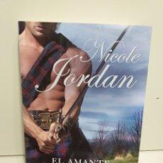 Libros de segunda mano: EL AMANTE. NICOLE JORDAN. ED. ESENCIA. Lote 205583632