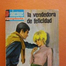 Livros em segunda mão: LA VENDEDORA DE FELICIDAD. JESÚS NAVARRO. SERIE PIMPINELA. EDITORIAL BRUGUERA. Lote 205822065