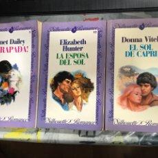 Libros de segunda mano: COLECCION SILHOUETTE ROMANCE , NÚMEROS 1, 12 Y 33, EDICIONES FORUM, LEER TITULOS EN DESCRIPCIÓN. Lote 206398547