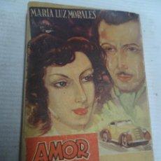 Libros de segunda mano: MARIA LUZ MORALES, AMOR EN EL CAMINO, 1944, ED HYMSA, BARCELONA, VER FOTOS. Lote 207098923