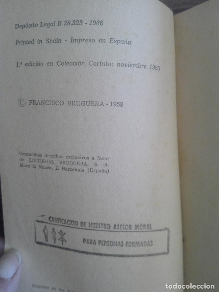 Libros de segunda mano: 1958 MALDITOS BESOS CORIN TELLADO 1ª EDICIÓN EN COLECCIÓN BRUGUERA 1966 CORINTO NOVELA ROSA 80g - Foto 2 - 208354853