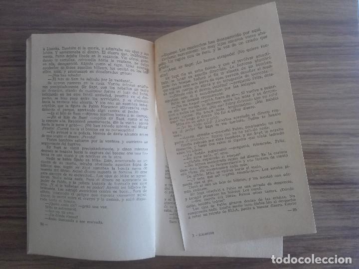 Libros de segunda mano: 1958 MALDITOS BESOS CORIN TELLADO 1ª EDICIÓN EN COLECCIÓN BRUGUERA 1966 CORINTO NOVELA ROSA 80g - Foto 3 - 208354853