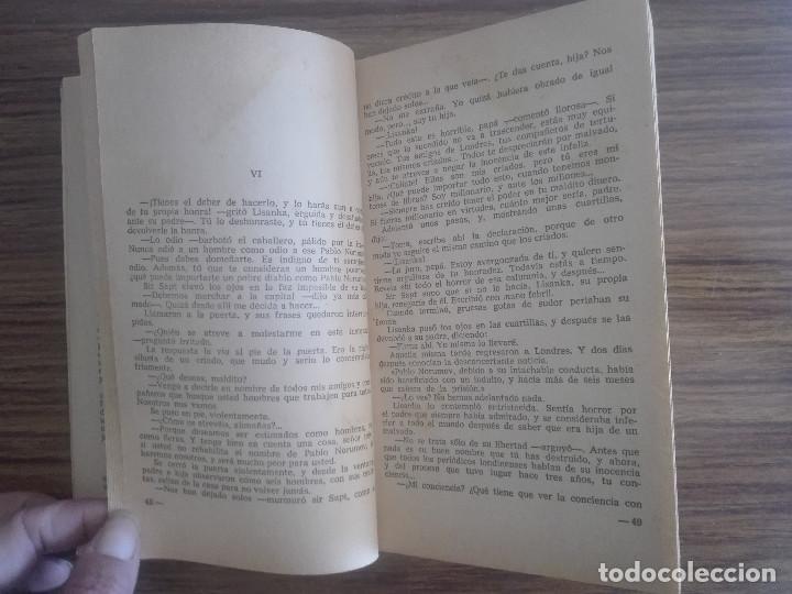 Libros de segunda mano: 1958 MALDITOS BESOS CORIN TELLADO 1ª EDICIÓN EN COLECCIÓN BRUGUERA 1966 CORINTO NOVELA ROSA 80g - Foto 4 - 208354853