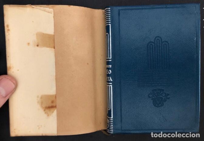 Libros de segunda mano: COLECCIÓN CRISOL N°85 bis. ROMEO Y JULIETA, LOS DOS HIDALGOS DE VERONA. SHAKESPEARE. AGUILAR (1964) - Foto 2 - 267171929