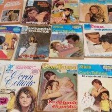 Libros de segunda mano: G-9 LOTE DE 15 NOVELAS DE CORIN TELLADO LAS DE FOTO. Lote 209718550