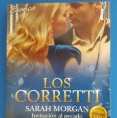 Libros de segunda mano: LIBRO / LOS CORRETTI, INVITACION AL PECADO - SARAH MORGAN, HARLEQUIN BIANCA 2014. Lote 209787025