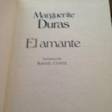 Libros de segunda mano: MARGUERITE DURAS: EL AMANTE. Lote 210607842
