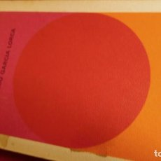 Libros de segunda mano: ROMANCERO GITANO Y YERMA. Lote 210756887
