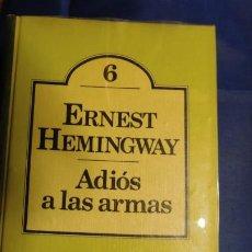 Libros de segunda mano: ADIÓS A LAS ARMAS, ERNEST HEMINGWAY. Lote 211580001