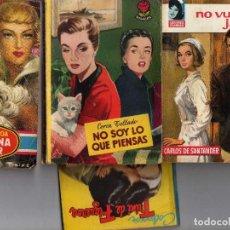 Libros de segunda mano: NOVELA ROMANTICA ( BOLSILIBROS BRUGUERA ) AÑOS 50-60- LOTE. Lote 212417367