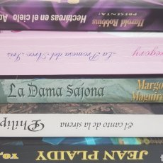 Libros de segunda mano: LOTE 5 NOVELAS ROMÁNTICAS. JEAN PLAIDY, PHILIPPA CARR, LISA GREGORY.... Lote 212870823
